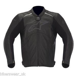 Alpinestars-Avant-Black-LeatherJacket-Perforated-Summer-jacket-Cheapest-on-ebay