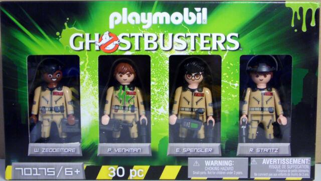 Playmobil 70175 Ghost Busters Figurenset Venkman Spengler Stanz Zeooemore NEU