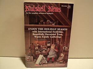 Nutshell-News-Doll-Dollhouse-Magazine-December-1986-RARE