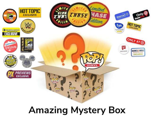 Funko Pop Mystery Boxes Chances For Chases Vaulted Exclusives And Rares For Sale Online Ebay