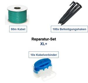 reparatur set xl bosch indego 1000 1200 1300 connect kabel haken verbinder paket ebay. Black Bedroom Furniture Sets. Home Design Ideas