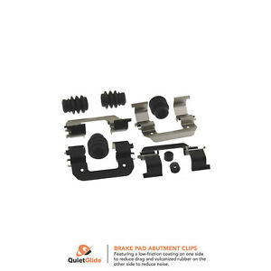 Frt Disc Brake Hardware Kit  Carlson  H5799