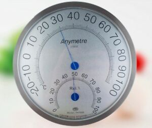 Anymetre TH-700B Stainless Steel Temperature And Humidity Hygrometer Gauge