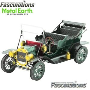 Metal-Earth-1908-Ford-Model-T-1-37-Scale-3D-DIY-Steel-Model-Hobby-Building-Kit