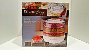 kitchen living food dehydrator 5 trays 12 diameter 6041 ebay rh ebay com kitchen living food dehydrator fd550 kitchen living food dehydrator aldi