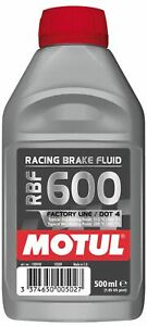 Motul-RBF600-Voll-Synthetisch-Racing-Motorsport-Bremsfluessigkeit-Dot-4-500ML