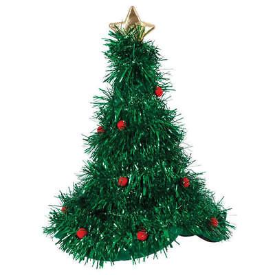 Inteligente Albero Di Natale Fronzoli Cappello Adulti Costume Festa Costume Unisex Accessorio-mostra Il Titolo Originale Originale Al 100%