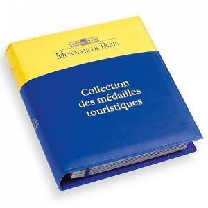 Album-Medaille-souvenir-Monnaie-de-Paris-72-jetons-touristiques
