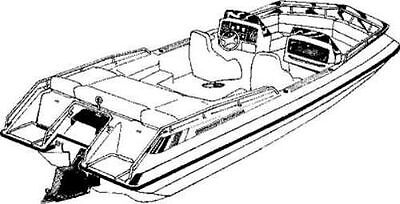 TRAILERABLE BOAT COVER CHAPARRAL 2100 SX I//O 1988 1989 1990 1991