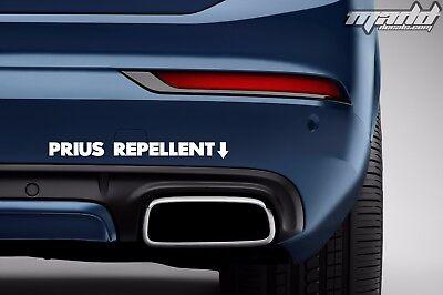 Prius Repellent Sticker | Funny Loud Exhaust Decal | eBay