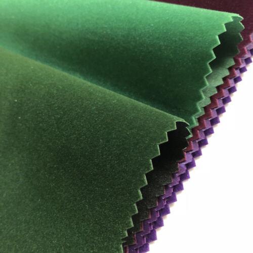 Flocage auto-adhésif Tissu Feuille Velours Doublure Polyester Tissu Chaussures matériel