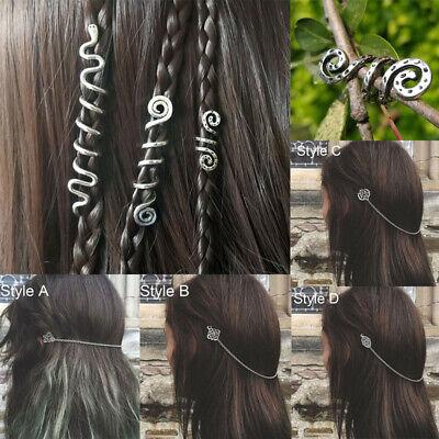 Women Hair Clips Viking Hair Accessories Metal Hair Stick Bun Holder Hairpin