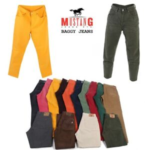 Vintage-Mustang-High-Waist-Baggy-Mom-Dad-Coloured-Jeans-Grade-A