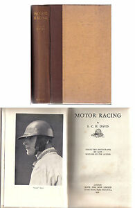 Motor-Racing-by-SCH-Davis-Pub-1932-autobiography-of-his-racing-in-the-1920s