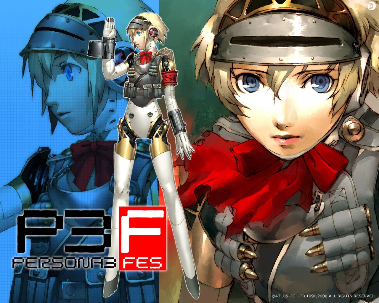 Shin Megami Tensei Persona 3 Fes Ps2 Playstation 2 2008