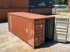 Used 20 Dry Van Steel Storage Container Shipping Cargo Conex Seabox Mobile
