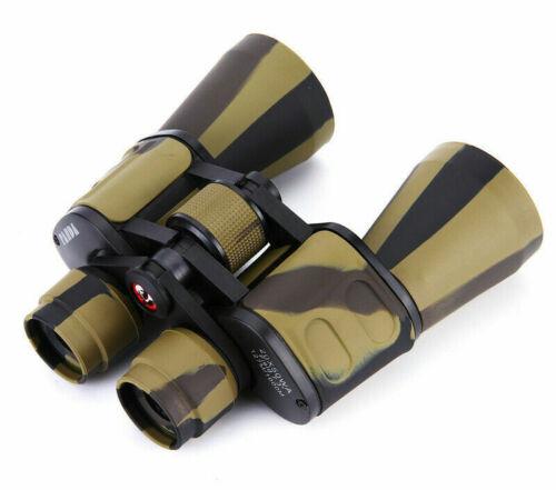 Wide Angle Desert Camo Binoculars Hunting Camping Telescope Outdoor Hike 20X50