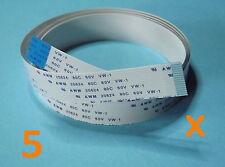 5 X FFC B 15Pin 1.0Pitch 100cm Raspberry Pi Ribbon Cable Kabel Flachbandkabel