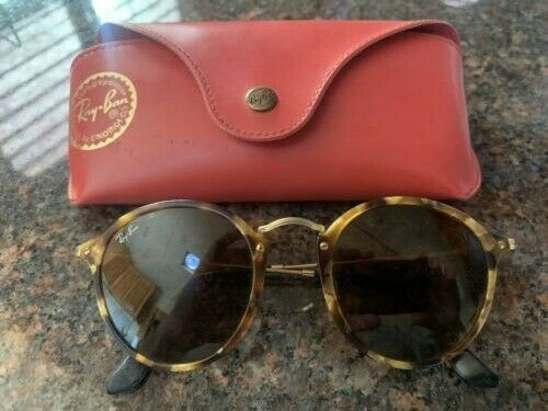 Authentic Ray-Ban Round Fleck RB2447