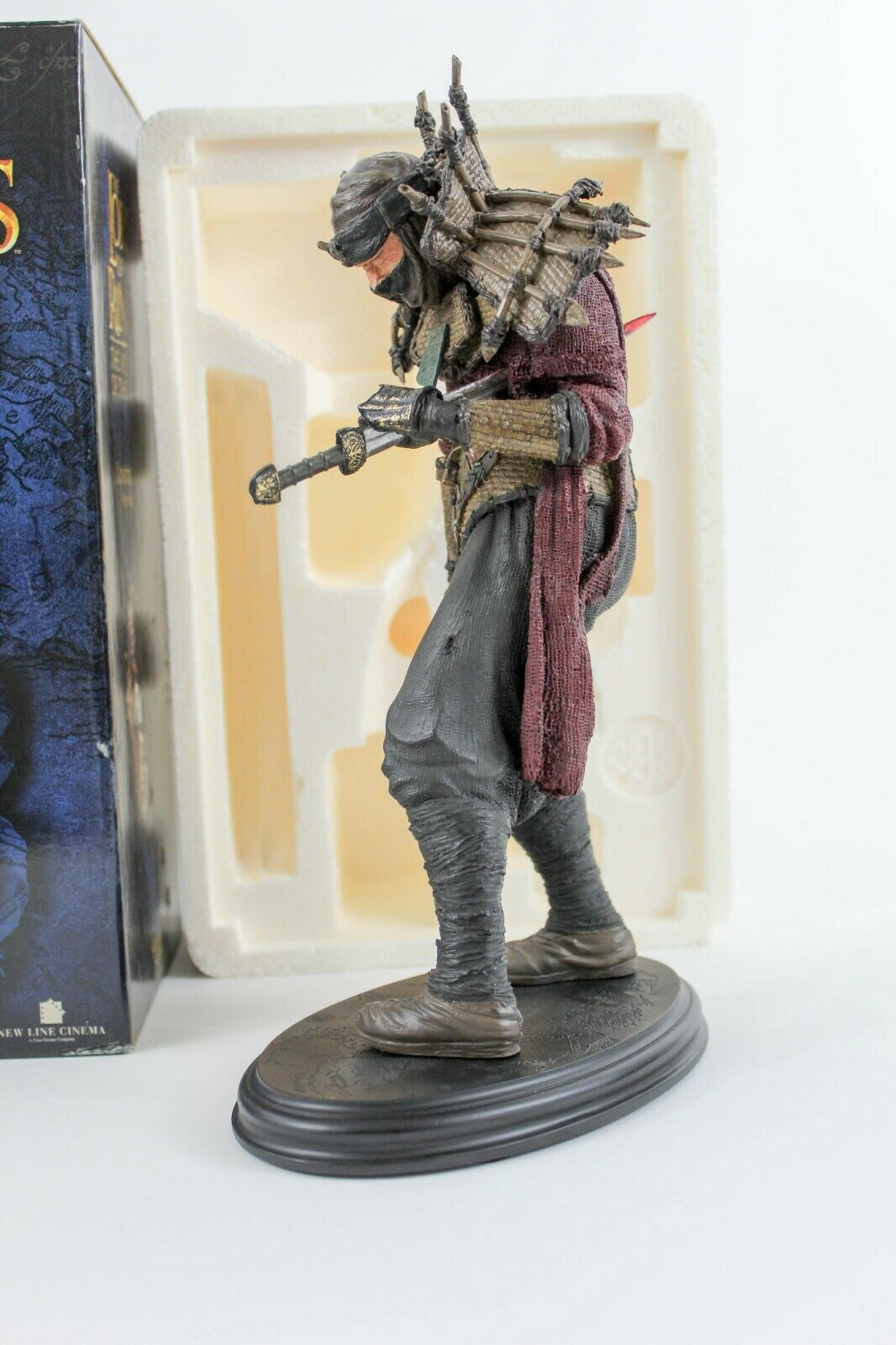 Haradrim Soldier Lord of the Rings Statue 2004 Sideshow Sideshow Sideshow Weta rossoK  433 Polystone 938cdd