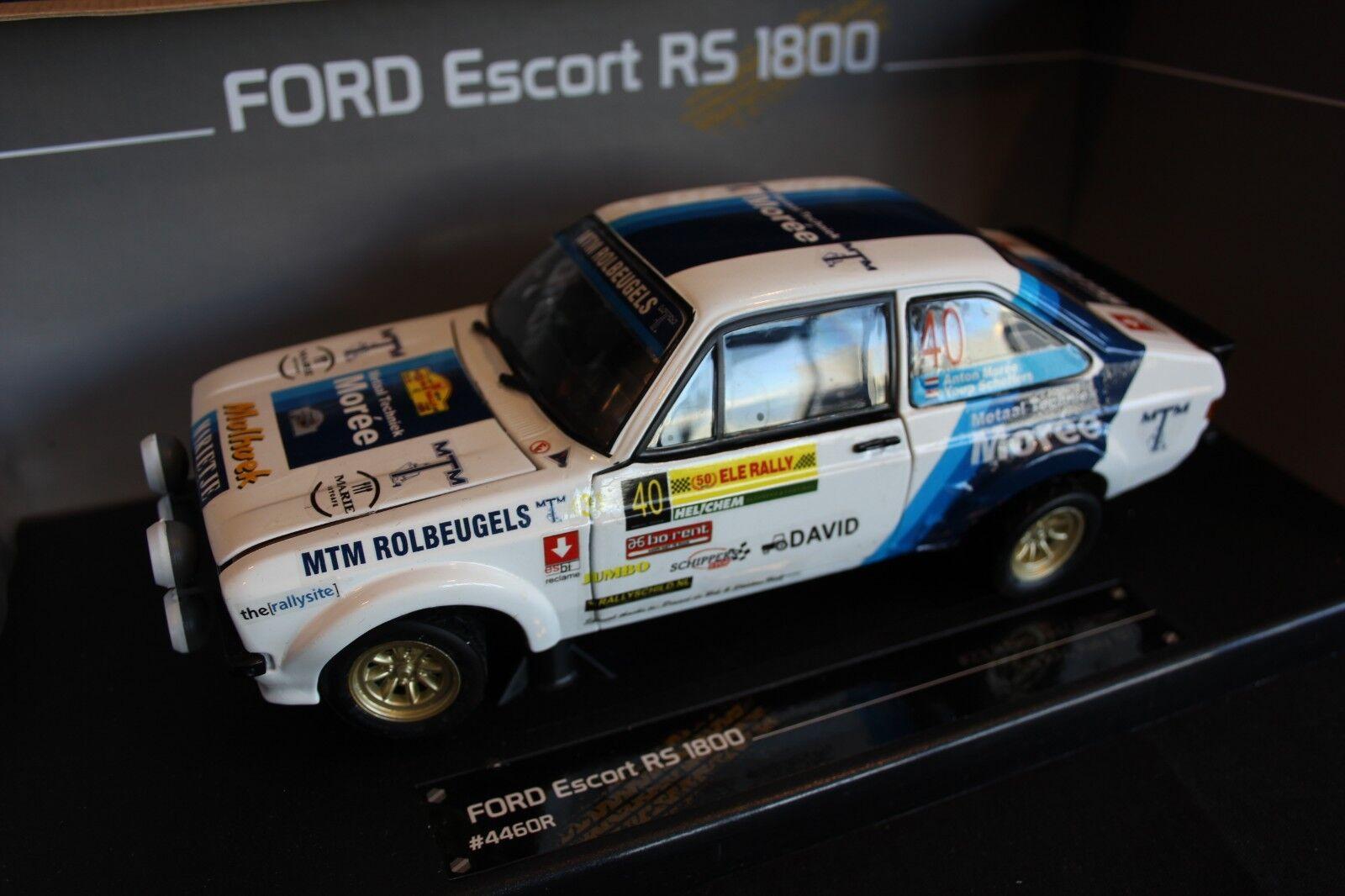 tienda de bajo costo Sun Estrella Ford Escort RS RS RS 1800 Mk2 2014 1 18  40 Morée   Scheffers ELE Rally  60% de descuento