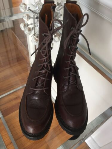 Cole Haan Women's Brown Leather Hiking/work Boots