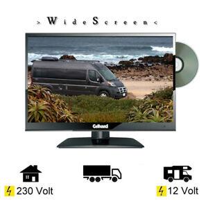 Gelhard GTV1682 LED-TV 15,6 Zoll Fernseher DVD/ DVB-S2-T2-C / T2 12/230V/FullHD