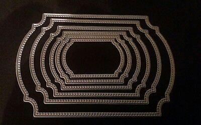 6 Piece Rectangular Chamfer Cutting Die Set. Last Two Con El Equipo Y Las TéCnicas MáS Actualizadas.
