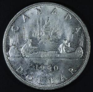 1960-Canada-1-Dollar-Silver-Coin-One-Dollar