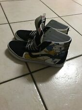 f517c6fce95 Disney Mickey Mouse Donald Duck Vans Sk8-Hi Skateboard Shoe Size 11 Men s  RARE