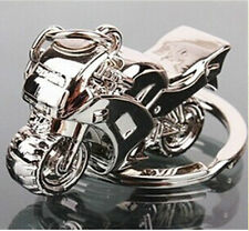 3D Metal MotorBike Motorcycle Superbike Scooter Keyring Gift UK Seller