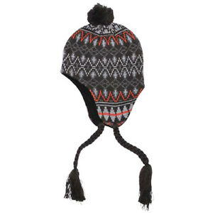 168f969b1ee Peru Callao Warm Knitted Mens Pom-Pom Hat Cosy Soft Cold Weather ...
