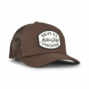 Deus-Ex-Machina-Vrod-Trucker-Cap-Brown