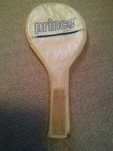 000 Vintage Prince Tricomp 110 Tennis Racquet Cover Case Volume Large