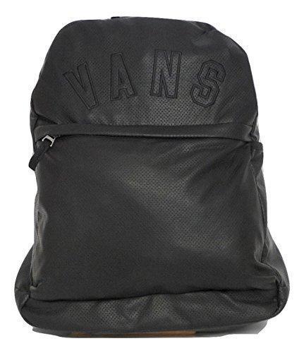 Mens Womens VANS Backpack Black Quad Squad Back Leather for sale online