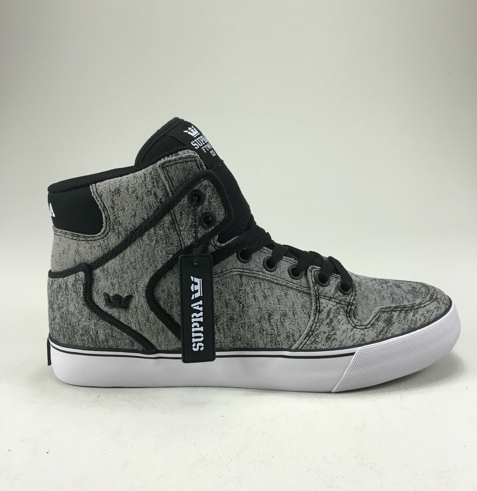Supra Vaider shoes Trainers Grey White  Brand new in box in Size