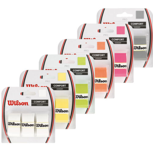 WILSON PRO OVERGRIP FOR TENNIS, PRO OVER GRIP ALSO BADMINTON OR PADEL SQUASH