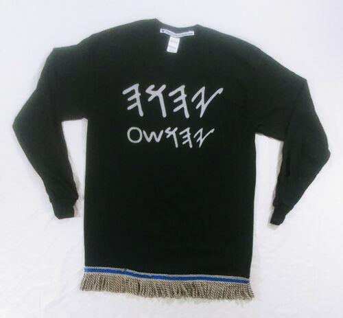 in Ancient Paleo Hebrew Hebrew Israelite Long-Sleeve T-Shirt /& Premium Fringes