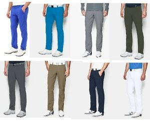 NEW-2018-UNDER-ARMOUR-MATCH-PLAY-MENS-TAPERED-STRAIGHT-GOLF-TROUSERS-ALL-SIZES