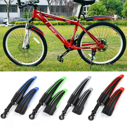 Bicycle Cycling Front Rear Mud Guards Mudguard Fenders Set Fr Mountain Road UK
