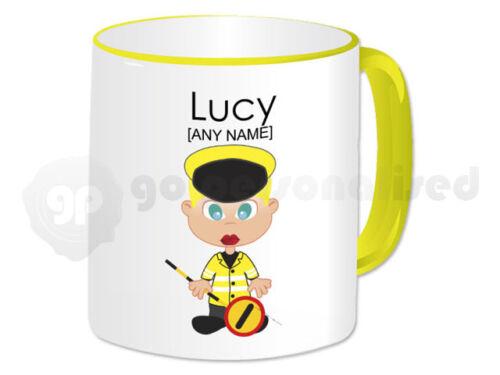 Personalised Gift Lollipop Lady Mug School Crossing Patrol Teacher Thank You #1