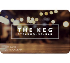 Buy a $115 The Keg Gift Card for $100 ($115 Value) - Email Delivery
