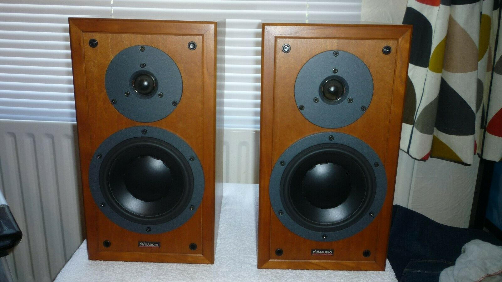 Dynaudio Contour 1.3 MK2 teak fully working two speakers RELISTED