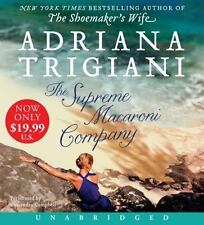 The Supreme Macaroni Company by Adriana Trigiani (2014, CD, Unabridged)