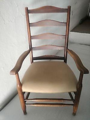 ** Poltrona trono padronale rovere massello 108 cm ( h) ** poltrone sedia | eBay