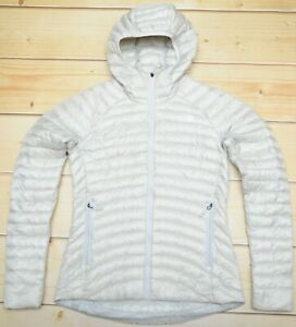 099df2898 Details about THE NORTH FACE IMPENDOR HOODIE GREY - 800 DOWN insulated  WOMEN'S JACKET - S