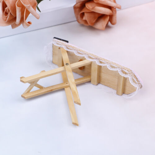 1:12 Dollhouse miniature iron with ironing board set classic furniture toys  SG