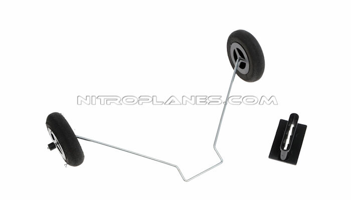 Elevator Spare Parts For Dynam DY8931 SkyBus C47 1470mm Wingspan