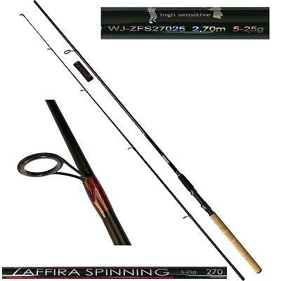 Jaxon Angelrute Zaffira Spinning 2,70m Steckrute Spinnangel Spinnrute WG 10-40g