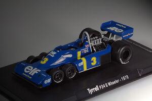 TYRRELL-P34-6-Wheeler-Formula-1-Jody-Scheckter-1976-1-43-RBA